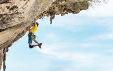 Bouldern und Klettern beim segeln in Korfu mit Korfu Segeln