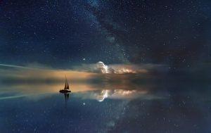 Unterm Sternenhimmel übernachten beim segeln in Korfu mit Korfu Segeln