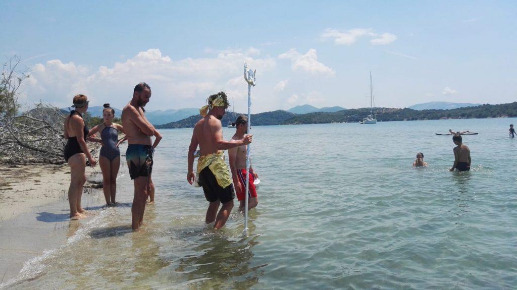 Poseidon Taufe