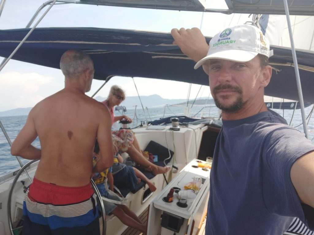 Flottille, Korfu-Segeln-Flottille, Korfu-Segeln, Flottillensegeln, Segeln, Korfu, die Crew
