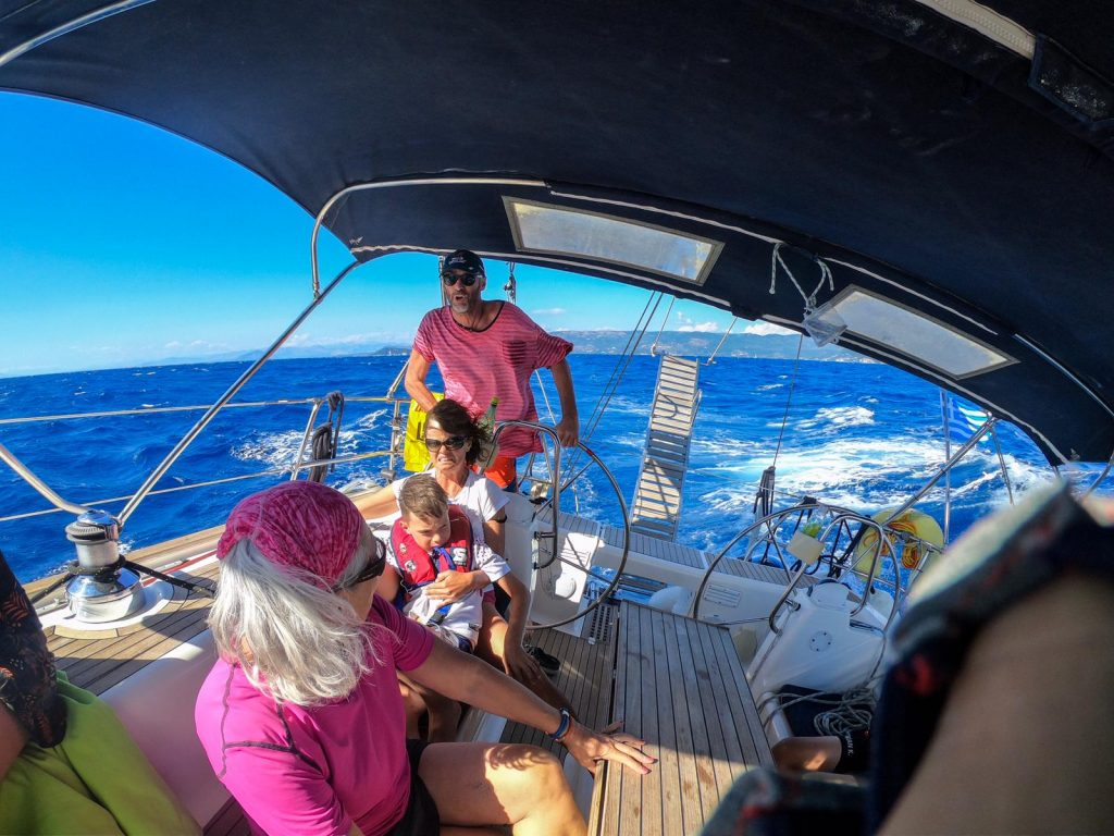 Flottille, Korfu-Segeln-Flottille, Korfu-Segeln, Flottillensegeln, Segeln, Korfu, Rudi