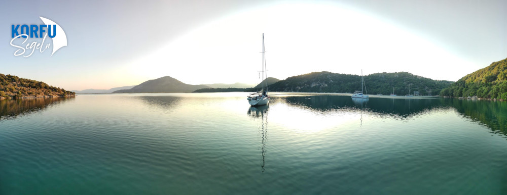 In der Bucht Ormos Valtou war das Baden und Schnorcheln besondere Freude als Incentive Segeln
