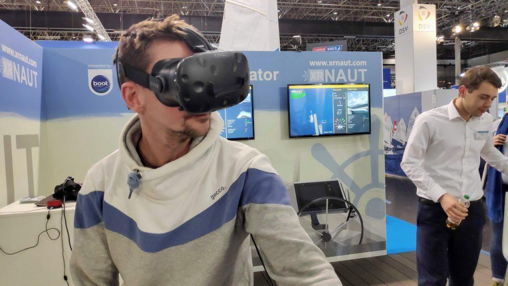 Boot Düsseldorf virtuelles Manöver Trainung