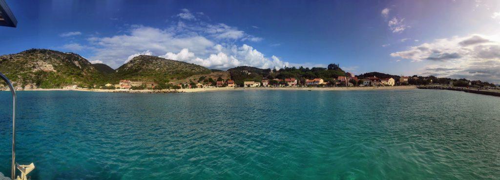 Hafen von Othoni im Segelrevier Korfu