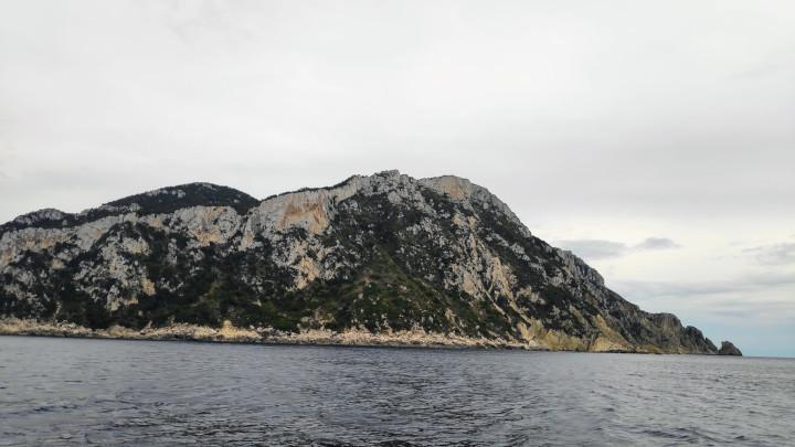 Westseite von Othoni im Segelrevier Korfu
