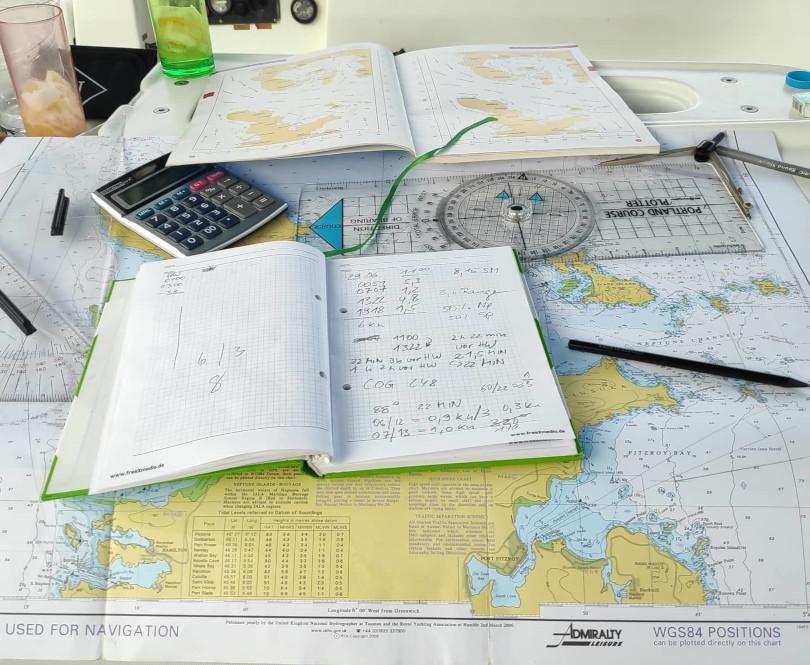 Praxisorientierte Navigation beim RYA Yachtmaster offshore