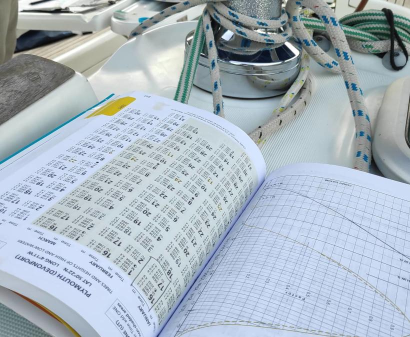 Realistische Prüfungsbedingungen beim Yachtmaster offshore Navigation