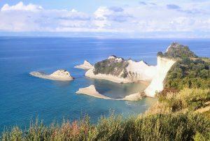 Rund Korfu Cape Drastis