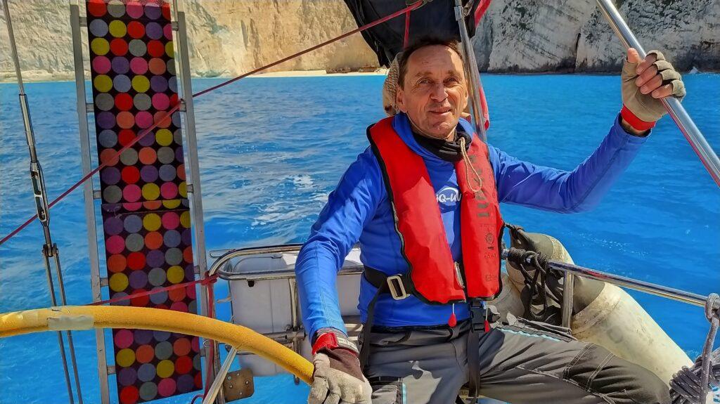 Zakynthos Navagio beim Segeltörn durch Griechenland
