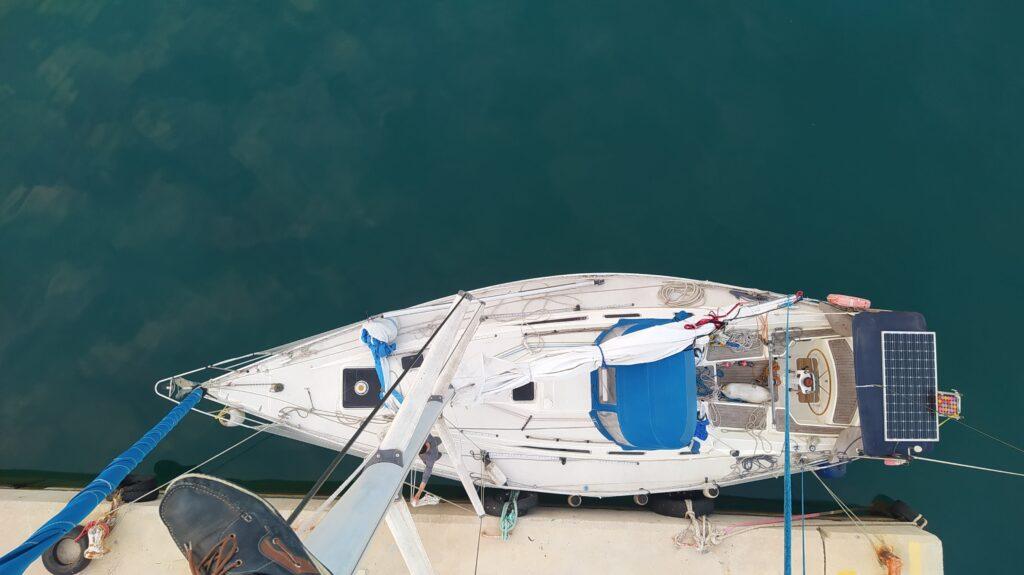 Makani eine Sigma 38 beim Segeltörn quer durch Griechenland