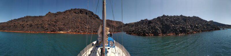 Santorin beim Segeltörn durch Griechenland