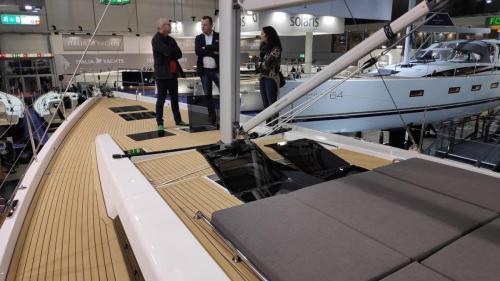 Boot Düsseldorf Hanse 588 Kundengespräche