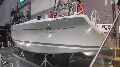 Boot Düsseldorf Intalia Yachts Heck Design