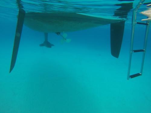 Korfu Segeln Bliss unter Wasser