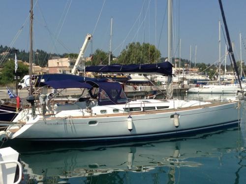 Korfu Segeln Joy am Pier