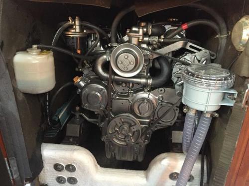 Korfu Segeln Stefi Motor