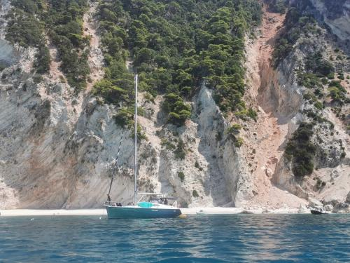 Morpheus Korfu Segeln in der Bucht