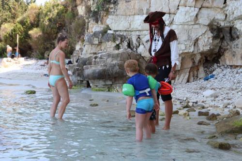 Piratenparty - im Wasser